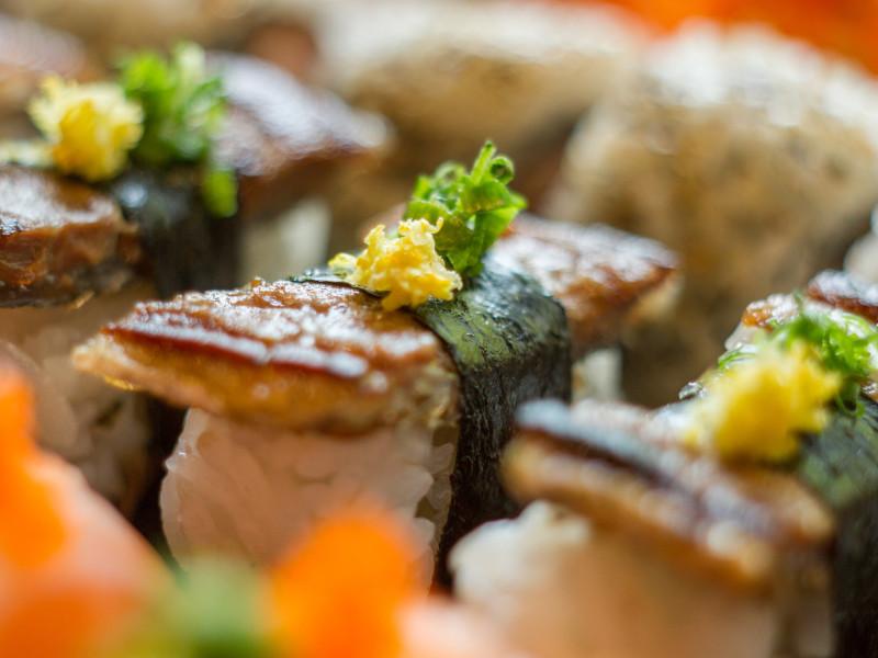 Sushi Skin com Raspa de Flor de Sal